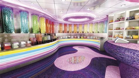 MSC Fantasia Candy Store - Mediterranean Cruises   MSC