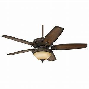 Ceiling fans light kit : Hunter claymore in brushed cocoa downrod or close