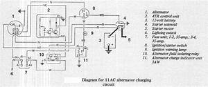 Self Exciting Alternator Wiring Diagram