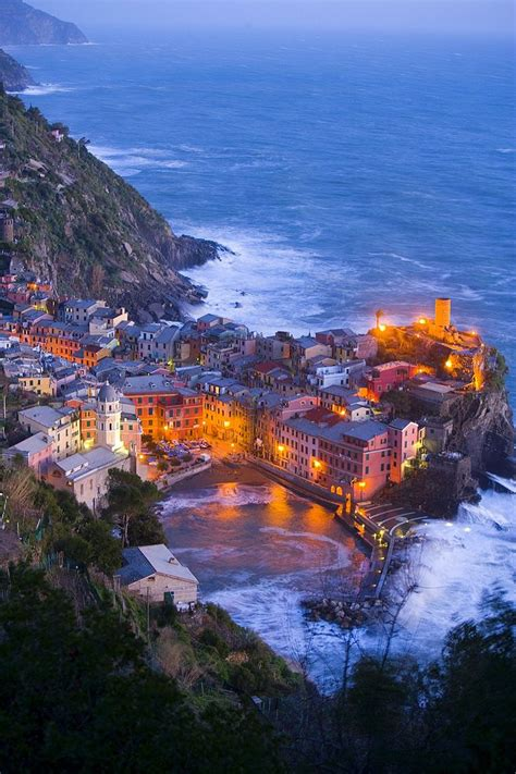 Vernazza Cinque Terre Liguria Italy Italy Yes