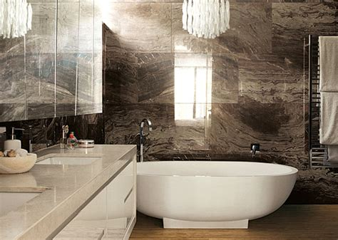 marble bathroom tile ideas traditional home designs brown marble bathroom tile backsplash and glossy white vanity marble