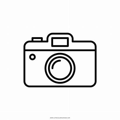 Camera Clipart Simple Yearbook Coloring Pages Immagini