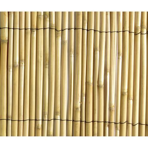 facade cuisine brico depot canisse sans attache nortene naturcane h 150 x l 500 cm leroy merlin