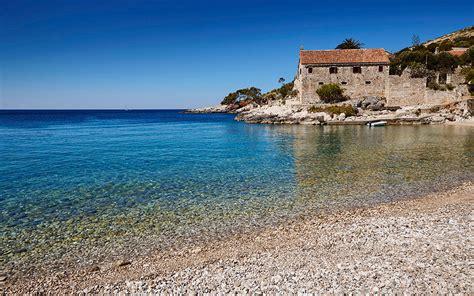 Dubovica Beach Dalmatia Croatia World Beach Guide
