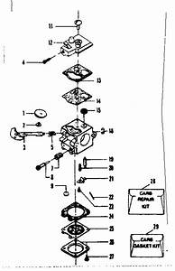 Craftsman Leaf Blower Carburetor Diagram