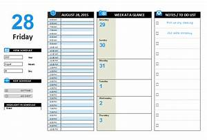 daily planner template With microsoft planner documents