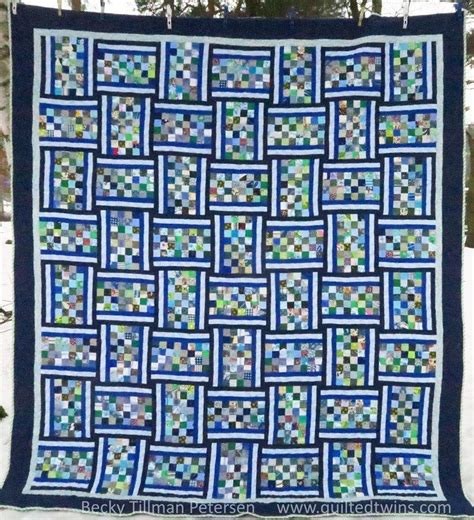 banded checkerboard quilt pattern favequiltscom