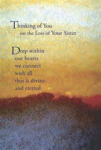 Sister Quotes for Your Loss Sympathy