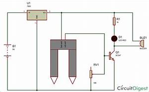 Simple Soil Moisture Detector Circuit Diagram