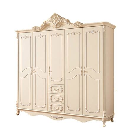 Armoire Closet White by European Style Bedroom Furniture Five Door Armoire White