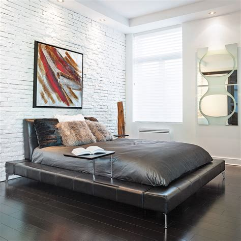chambre a coucher style contemporain chambre minimaliste au style contemporain chambre