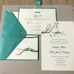 saving money on wedding invitations thriftyfun With wedding invitations 50 cents each