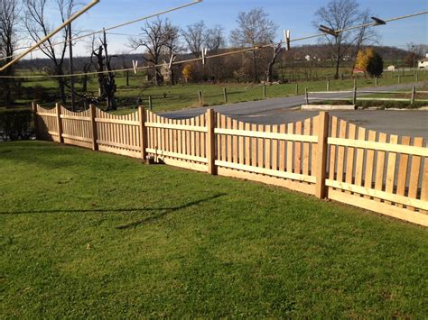Black Locust Decorative Fence