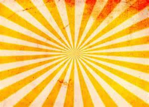 Grunge Sunburst