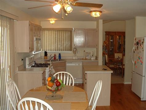 small kitchen paint colors with oak cabinets idea home rustic style small kitchen combined with dining room and