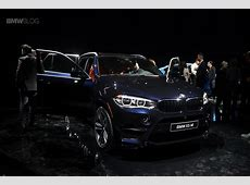 2015 BMW X5 M and 2015 BMW X6 M Preview Night