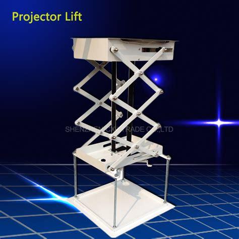 Ceiling Projector Mount Motorized by 70cm Projector Bracket Motorized Electric Lift Scissors