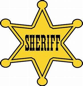 Sheriff Star Clip Art - ClipArt Best