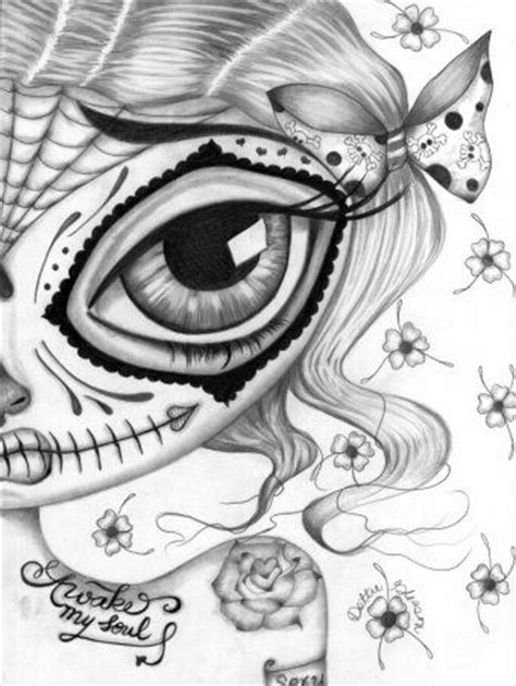 Awake My Soul | Drawing in 2019 | Skull coloring pages, Fairy coloring pages, Coloring pages to