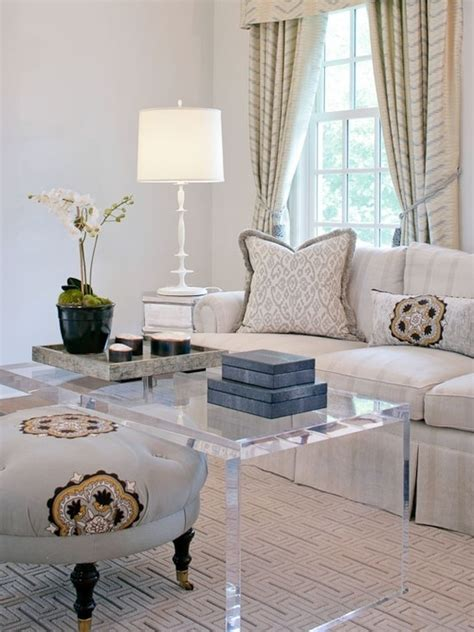 40 Lucite Coffee Table Ideas  A Fancy Coffee Table Made