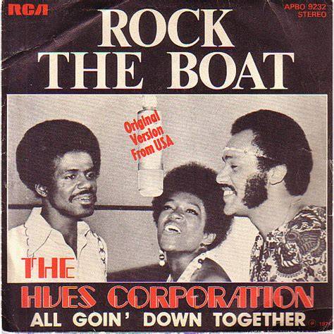 We Rock The Boat by I Estivate Therefore I Am Rock The Boat Hues