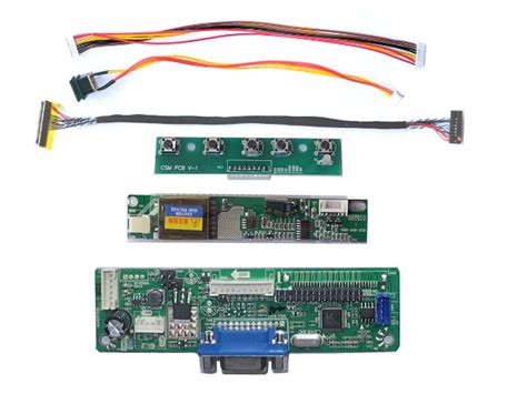 rtd2270clw lcd controller board kit driver lvds turn your lcd into monitor ebay