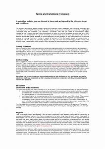 terms and conditions template cyberuse With standard terms and conditions for services template