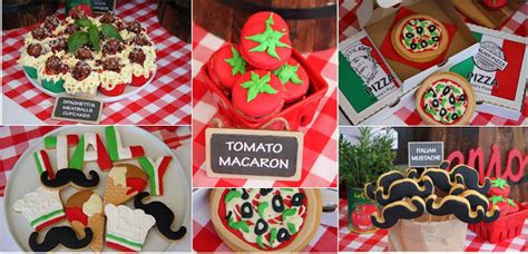 Leonies Cakes And Parties Italian Party