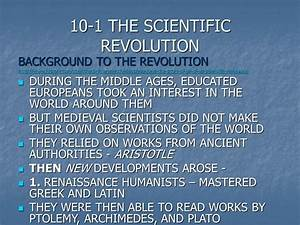 REVOLUTION AND ENLIGHTENMENT - ppt download