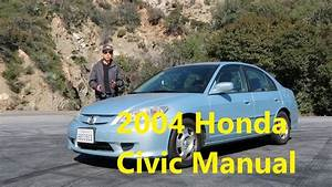2004 Honda Civic Hybrid Manual - Perfect Daily