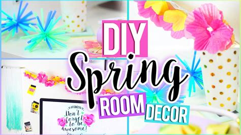 diy tumblr spring room decor easy affordable youtube
