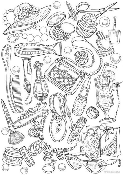 girly coloring pages idea whitesbelfast