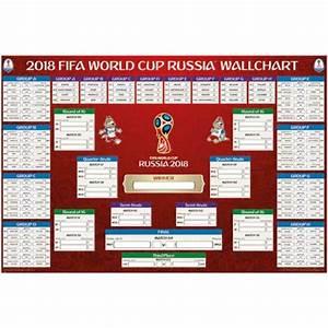 2018 Fifa World Cup Russia U2122 Poster Wall Chart