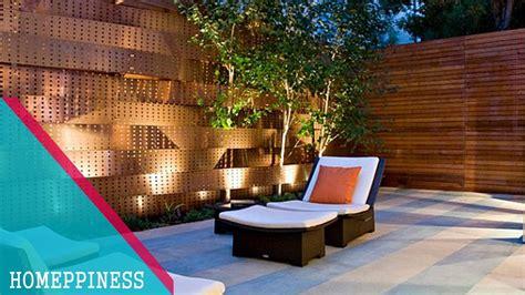 Contemporary Backyard by New Design 2017 30 Modern Backyard Wood Fence Ideas