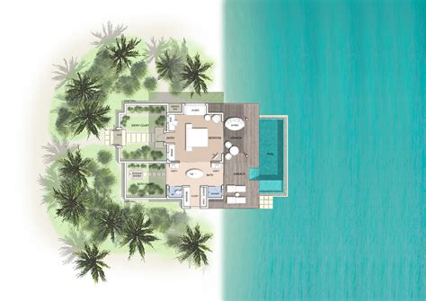 3 bedroom house plan maldives pool villas pool villas at kuramathi