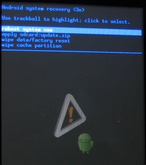 android system recovery how to update android 2 2 froyo frf50 to frf72