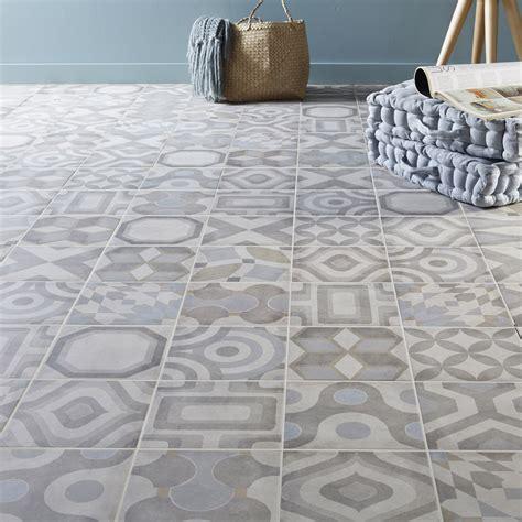 carrelage sol et mur ivoire effet ciment arlequin l 20 x l 20 cm leroy merlin