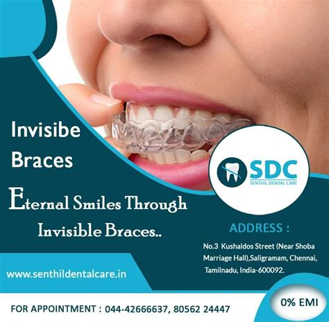 Supplemental orthodontic insurance can make dental braces more affordable for adults and children of large families with extensive oral care needs. Invisible Braces Eternal Smiles Through Invisible Braces... #InvisibleBracesInVadapalni # ...