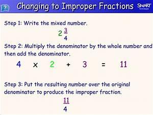 Mrs. White's 6th Grade Math Blog: IMPROPER FRACTIONS AND ...