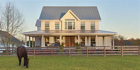 farmhouse home designs this turned a suburban cookie cutter home into a