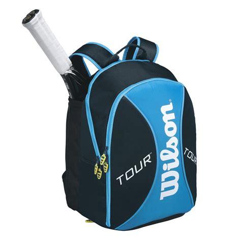 wilson  blue small backpack tennisnutscom