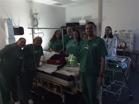 radiation therapy students  melbourne  laser system