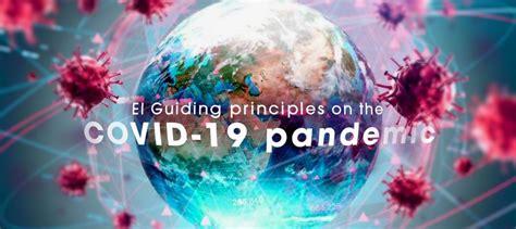 guiding principles   covid  pandemic