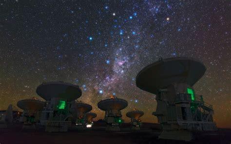 Landscape Milky Way Space Atacama Desert Chile Galaxy