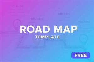 free roadmap powerpoint slides ppt presentation theme With road map powerpoint template free