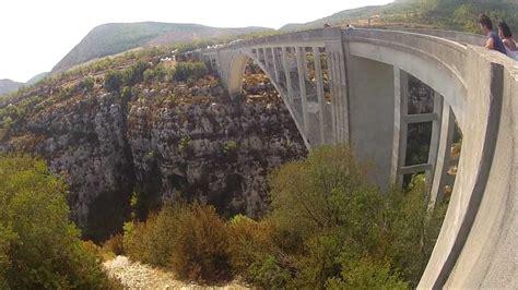 saut  lelastique pont de lartuby gopro hd youtube