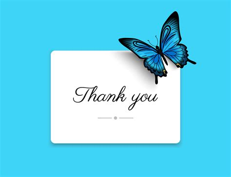 thank you greeting card in HD | HD Images