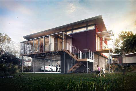Modern Style Architectural Renders by Kiribati House Mer 234 Ces Arch Viz Studio Archello