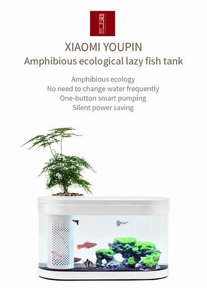 Fish Tank Xiaomi Aquarium Geometry Aquaponics Water