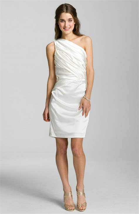 White Cocktail Dresses For Women Dresscab